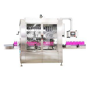 Yerçekimi Tipi Açılı-Boyunlu Şişe Sıvı Dolum Makinesi