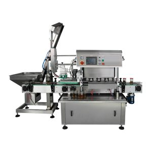 Otomatik Çevirmeli Vakum Kapatma Makinası