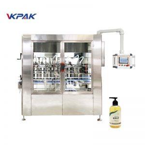 Otomatik Lineer Servo Tahrikli Sıvı Sabun Dolum Makinesi