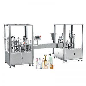 Otomatik Parfüm Dolum ve Kapatma Makinası