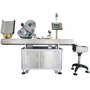 Kararsız Ürünler İçin Yüksek Hızlı Servo Yatay Etiketleme Makinesi